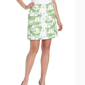 Lilly Pulitzer Lavender Skirt in Just Add Mint